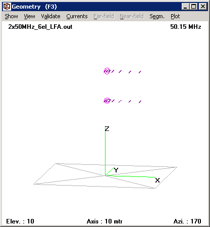 PE1ITR - 50MHz Omnidirectional Antenna